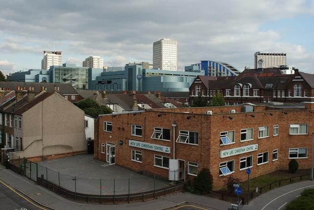 View Towards Central Croydon