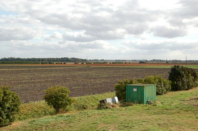 View southeast across the fen from Harris Farm