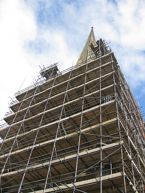 How much scaffolding is needed?