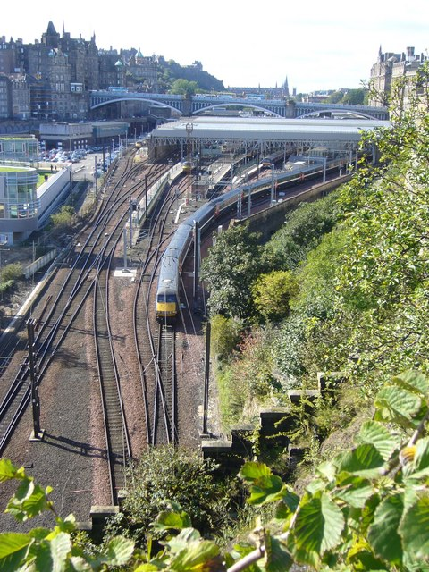 Waverley Station from Regent Road