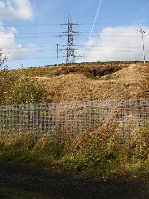 Pylon near Dunford Bridge