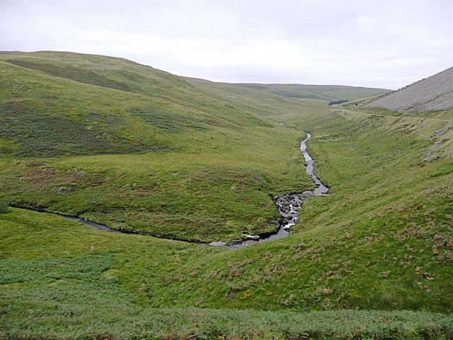Cwm Camddwr near Soar-y-Mynydd, Ceredigion