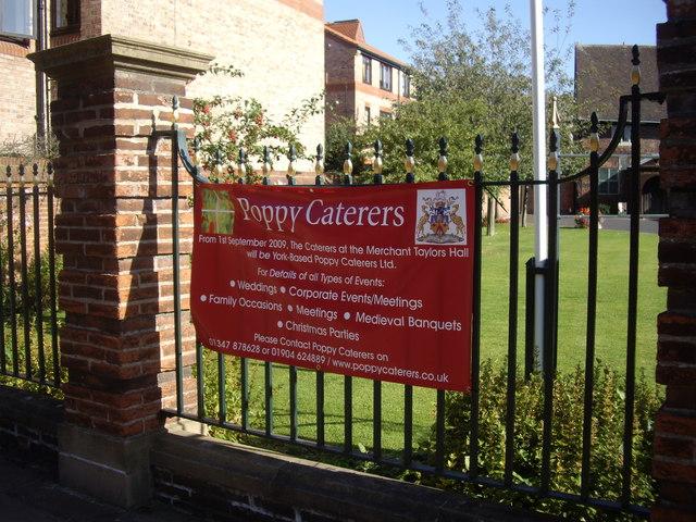 Poppy Caterers banner