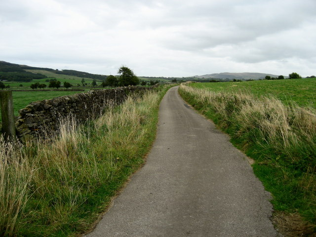 Access Lane to Kirk Sink