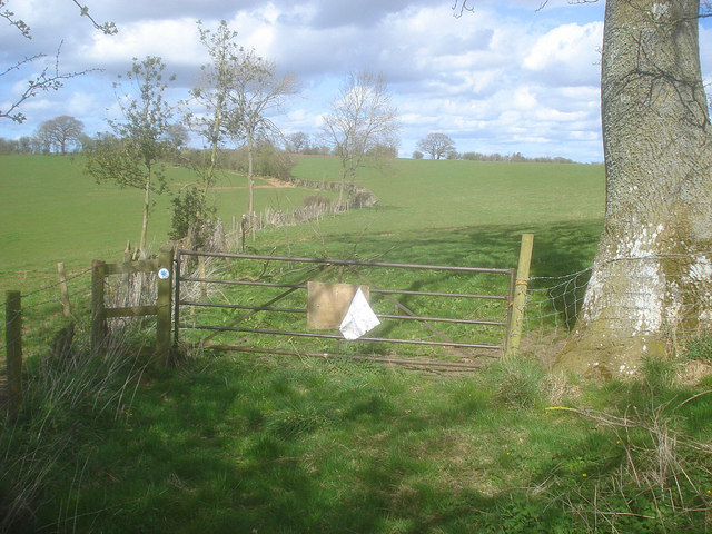 Bridleway to Grendon Court