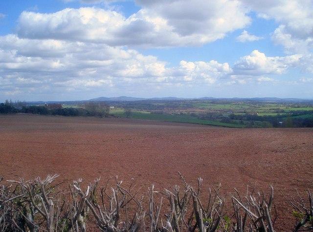 Arable land near Durstone Farm