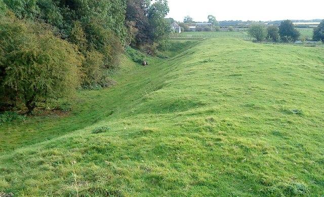 Slingsby Castle Moat