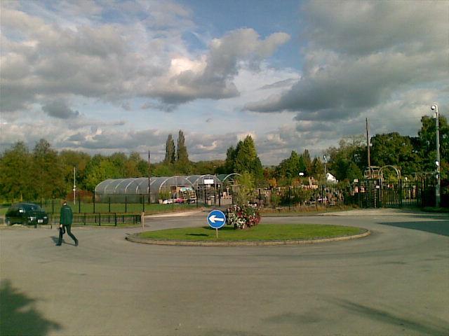 Forecourt of Wilmslow Garden Centre