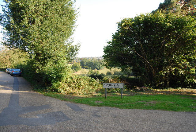 Junction of Nevill Court, Nevill Park & The Crossway, Nevill Park