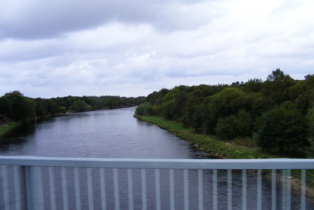 The River Spey at Fochabers