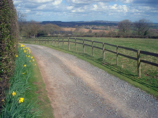 Entrance to Little Hegdon