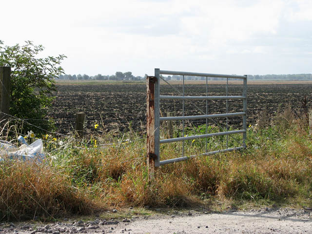 Field gate at Shippea Hill