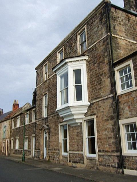 A three-storey house