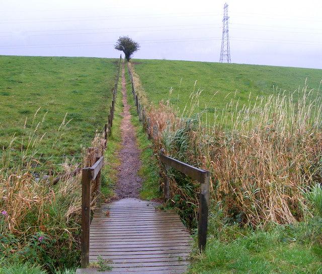 Footpath to Keith at Braehead