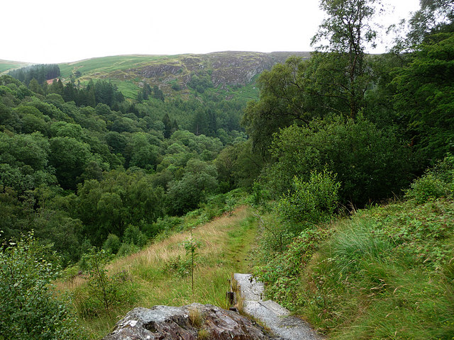 View from Pen-y-Garreg dam