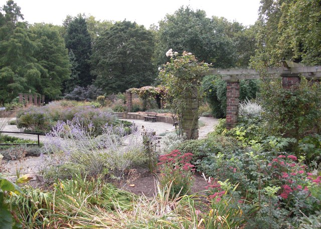 Ada Salter Rose Garden. Southwark Park, Rotherhithe, London, SE16