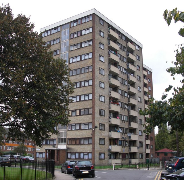 Slippers Place Estate (part), Rotherhithe. London, SE16