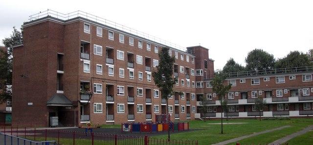 Rennie Estate (part) Rotherhithe, London, SE16