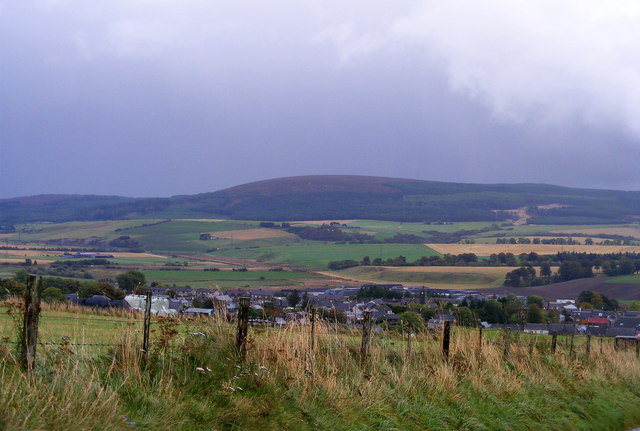 Looking Towards Newmill