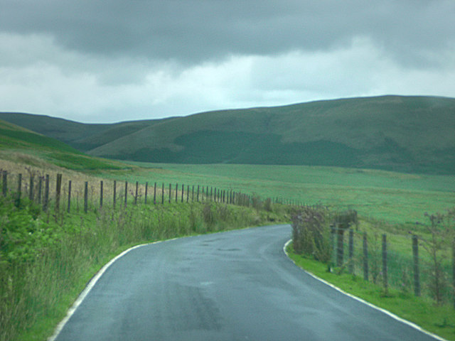 Road north east of Hirnant