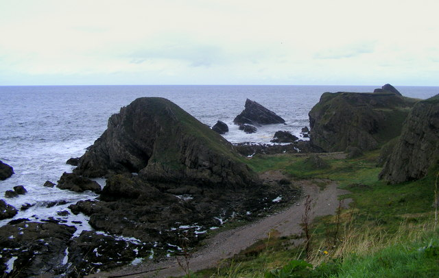 Rocks at Portessie