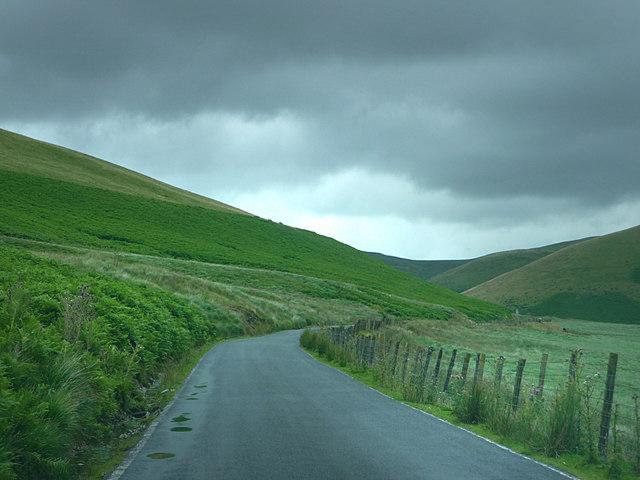Road at Rhosmeheryn