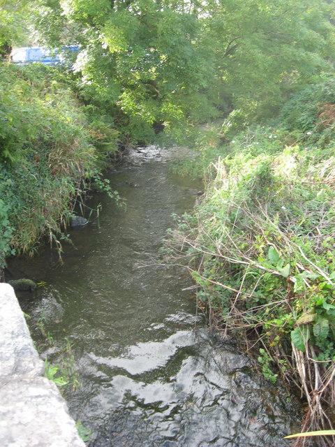 The River Alun at Porth Clais