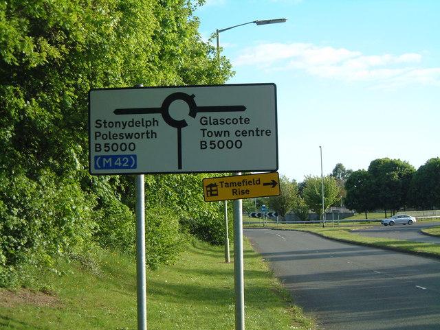 Mercian Way, Signs  (1)