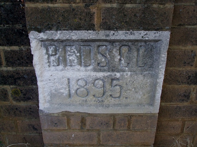 Bridge date stone