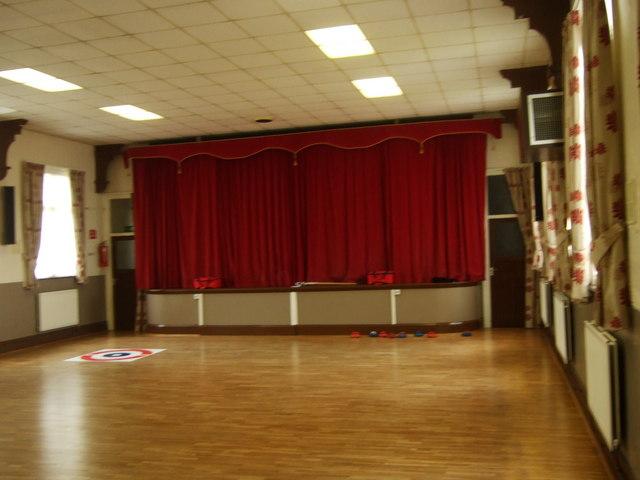 Memorial Hall interior