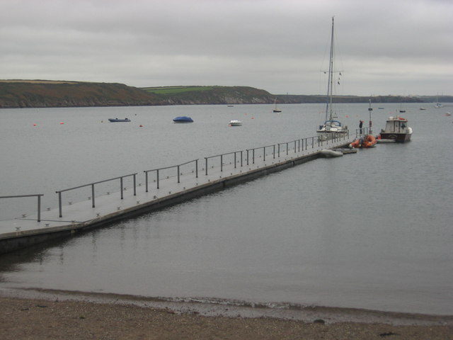Yachting jetty at Dale