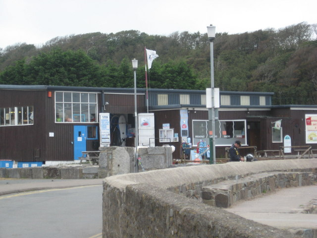 The sailing clubhouse at Dale