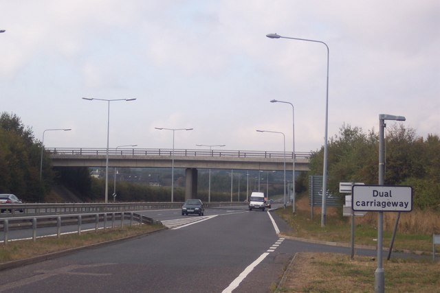 Highstreet Road crossing over the A299 Thanet Way