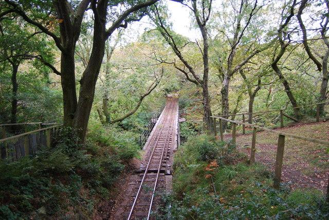 Railway track, Dolgoch