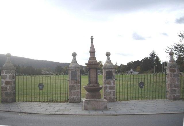 Victoria Fountain, Aboyne