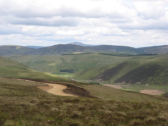 New road, Harleburn Head
