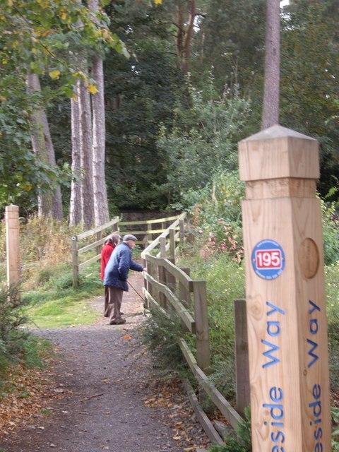 Deeside Way footpath