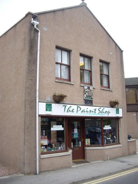 The Paint Shop, Banchory