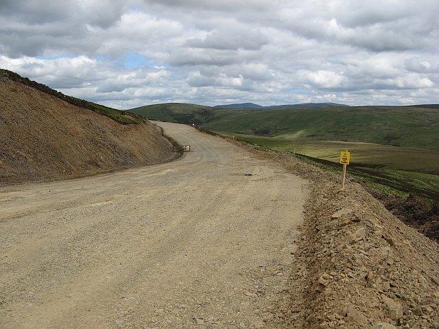 New road, Harleburn Head