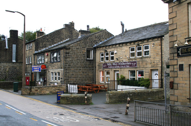 Post Office and Fish and Chip shop, Haworth