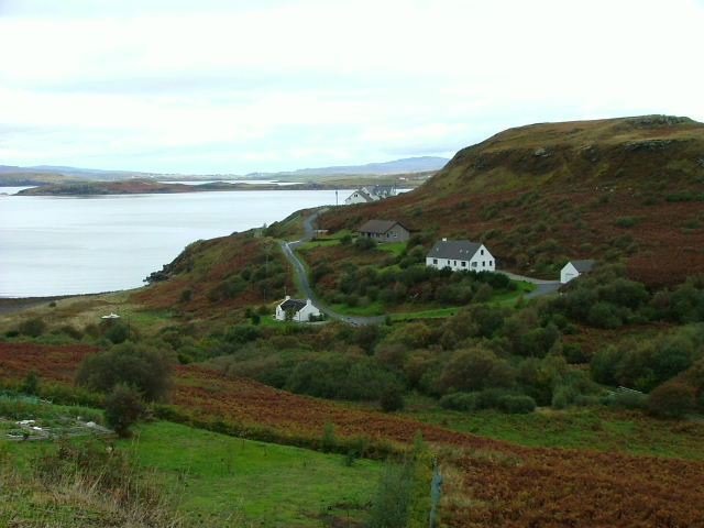 Houses at Ardtreck