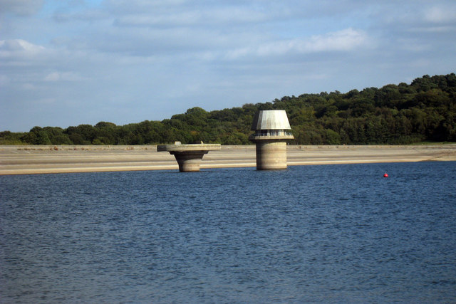 Tower at Bewl Water Reservoir
