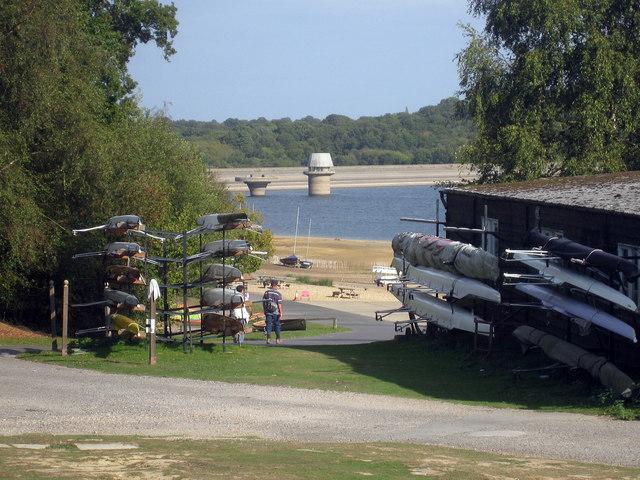 Sailing Club at Bewl Water Reservoir