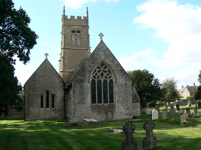 Eastern end, St Matthew's church, Coates
