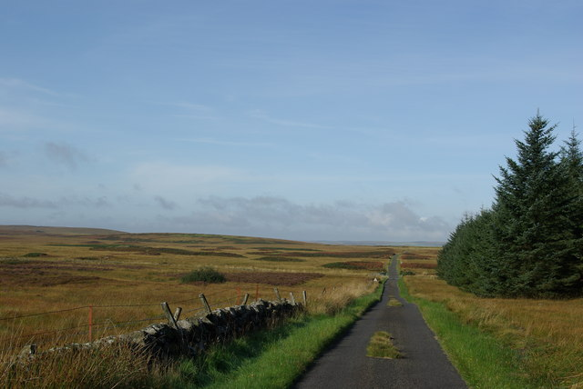Minor road south of Artfield Fell
