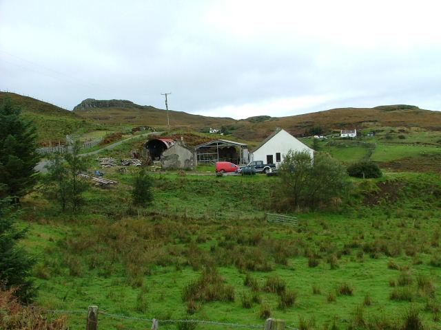 Croft house at Fiskavaig