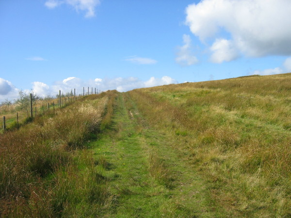 Byway above Ryeclose