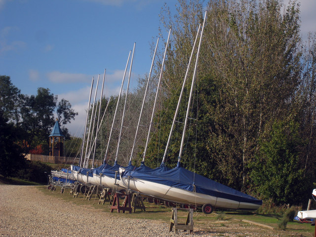 Sailing Boats at Bewl Water Reservoir