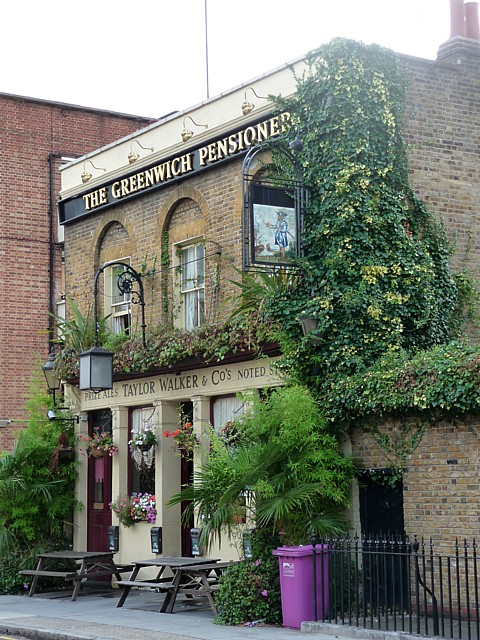 The Greenwich Pensioner, Bazely Street