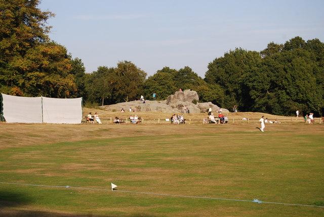 Wellington Rocks beyond Linden Park Cricket Ground